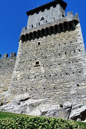 architectural architectonic: Rocca Guaita, Republic of San Marino