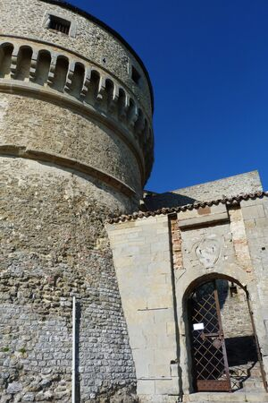 emilia: San Leo fortress, Emilia Romagna, Italy