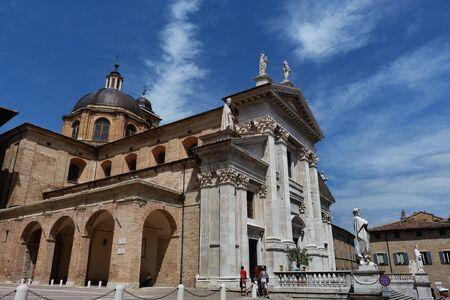 marche: Cathedral of Urbino, Marche, Italy Editorial