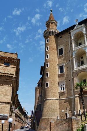 marche: Palazzo Ducale, Urbino, Marche, Italy