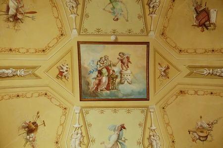 marche: Civic museum of Villa Colloredo, Recanati, Marche, Italy