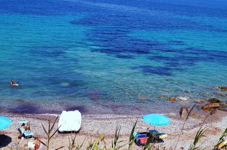 wetting: Cavo, Elba Island, Tuscany, Italy