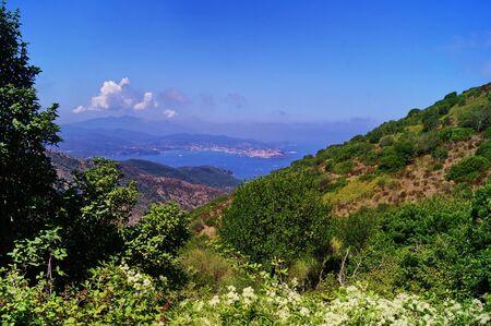 North Coast of Elba Island, Tuscany, Italy
