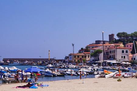 elba: Marciana Marina harbor, Elba Island, Tuscany, Italy