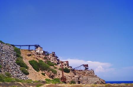 magnetite: Abandoned mine of Ginevro, Elba Island, Tuscany, Italy