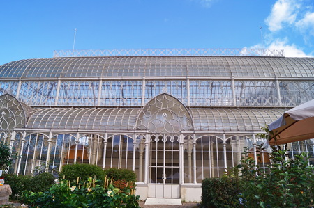 horticultural: Tepidarium of the horticultural garden in Florence, Italy