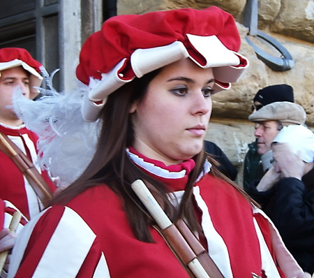 Cavalcade of the Magi, traditional Florentine feast of the Epiphany. Italy