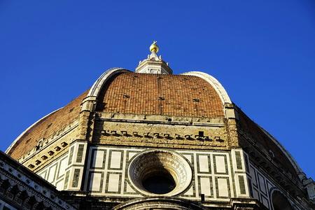 santa maria del fiore: Dome of Santa Maria del Fiore Cathedral, Florence, Italy