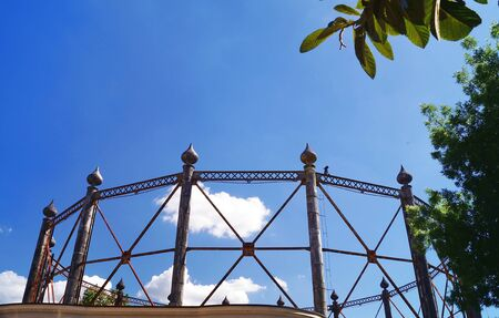 carbonaceous: Former gasometer in Florence, Italy