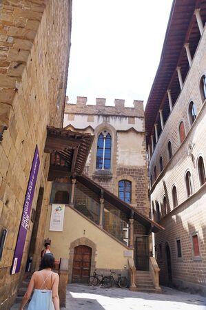 parte: Palagio di Parte Guelfa, Florence, Italy Editorial