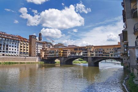 Ponte Vecchio bridge, Florence, Italy Stock Photo