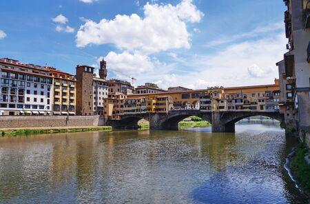 ponte: Ponte Vecchio bridge, Florence, Italy Stock Photo