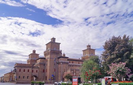 ferrara: Este castle, Ferrara, Italy