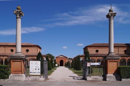ferrara: Charterhouse of Ferrara, Italy Editorial