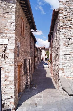 Stretta del Fondaccio, Gubbio, Umbria, Italy