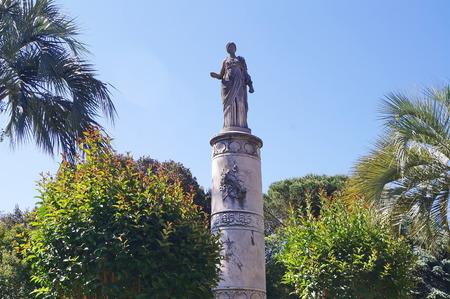 Statue of Igea, Parterre, Livorno, Tuscany, Italy