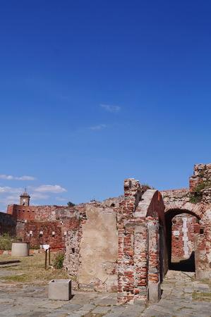 livorno: Old fortress, Livorno, Tuscany, Italy