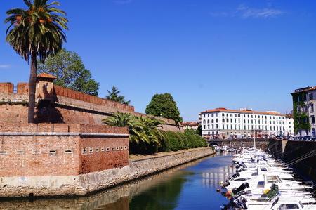 livorno: New fortress, Livorno, Tuscany, Italy