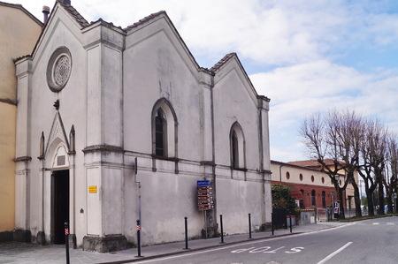 Oratory of the Madonna of earthquakes, Scarperia, Tuscany, Italy Banco de Imagens