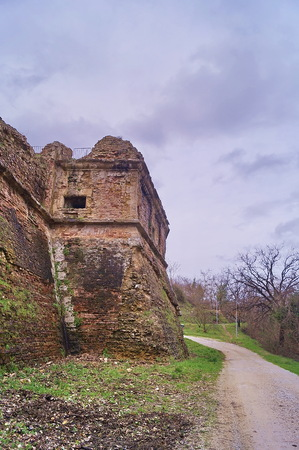 Quarterdeck of the Medici Fortress of Poggio Imperiale, Poggibonsi, Tuscany, Italy