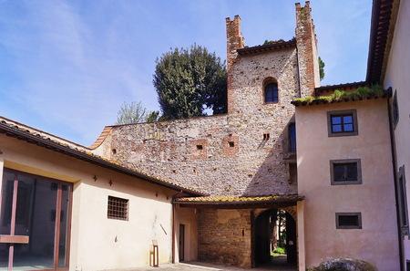 Acciaolo castle, Scandicci, Tuscany, Italy