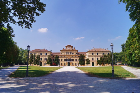 Garden Palace in the Ducal park of Parma, Italy