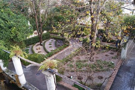 Minerva garden, Salerno, Italy
