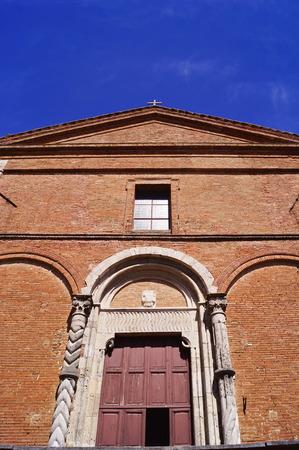Church of San Francesco, Chiusi, Tuscany, Italy Stock Photo