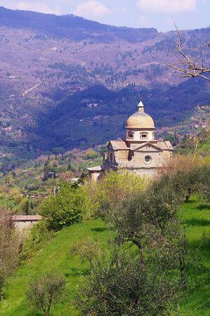 Santa Maria Nuova church, Cortona, Tuscany, Italy