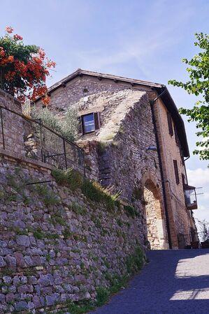 Glimpse of Giano dell'Umbria, Perugia, Umbria, Italy
