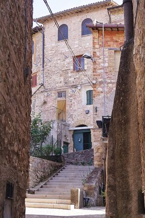 Glimpse of Giano dell'Umbria, Perugia, Umbria, Italy