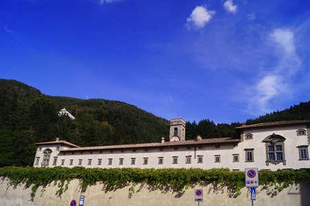 Vallombrosa Abbey in Tuscany, Italy Stock Photo