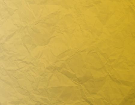 A gold Wrinkled Paper Background Vector Illustration