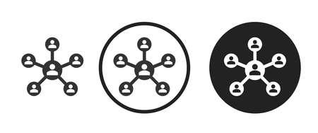 diagram Icons set vector illustration
