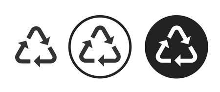 recycle Icons set vector illustration Stock Illustratie