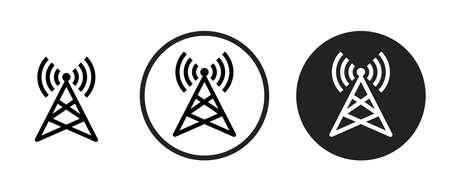 wifi Icons set vector illustration