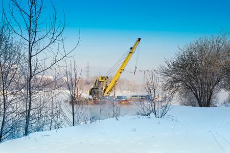 Sheers sur Moscou-rivière
