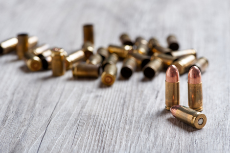 hurtful: firearm ammunition with gunpowder and caps