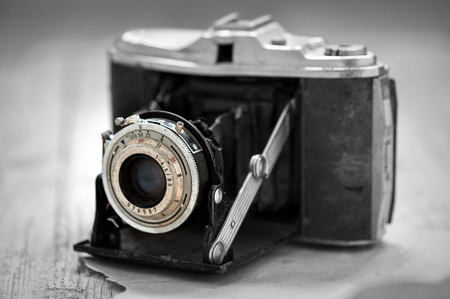 camera in the 1930s black and white photography