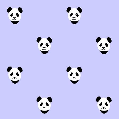 seamless pattern: Panda Seamless pattern