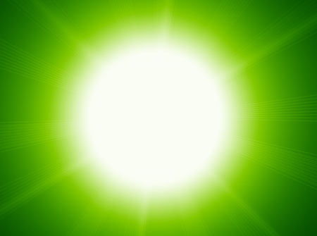 Abstract background of the lens flare