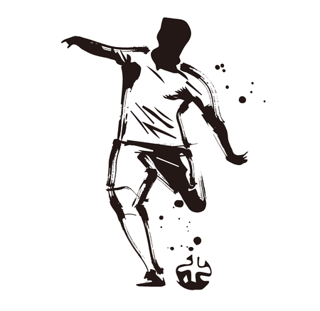 Football anthem illustration  イラスト・ベクター素材
