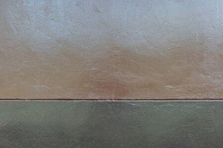 two tone: Two tone brown concrete wall texture Stock Photo
