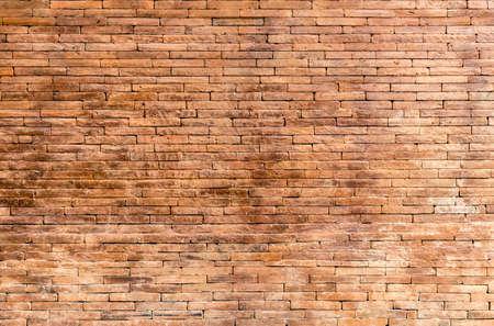 paredes de ladrillos: Antiguo muro de ladrillo marrón