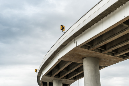 elevated: Curve of elevated express way