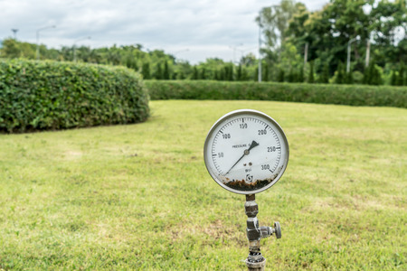 gage: Pressure gage in the park