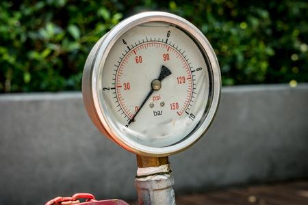 gage: Water pressure gage