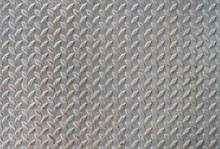 gray pattern: Gray Diamond pattern steel texture Stock Photo