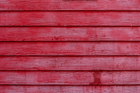 red wall: Old Red wooden wall Stock Photo