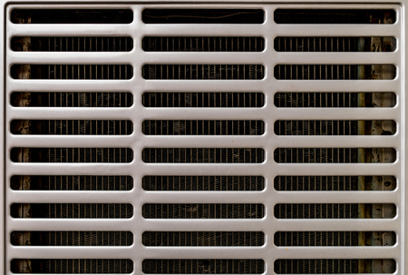 grille: Part of cars cooling radiator